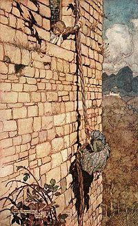 Raiponce conte vikidia l encyclop die des 8 13 ans - Mechante raiponce ...