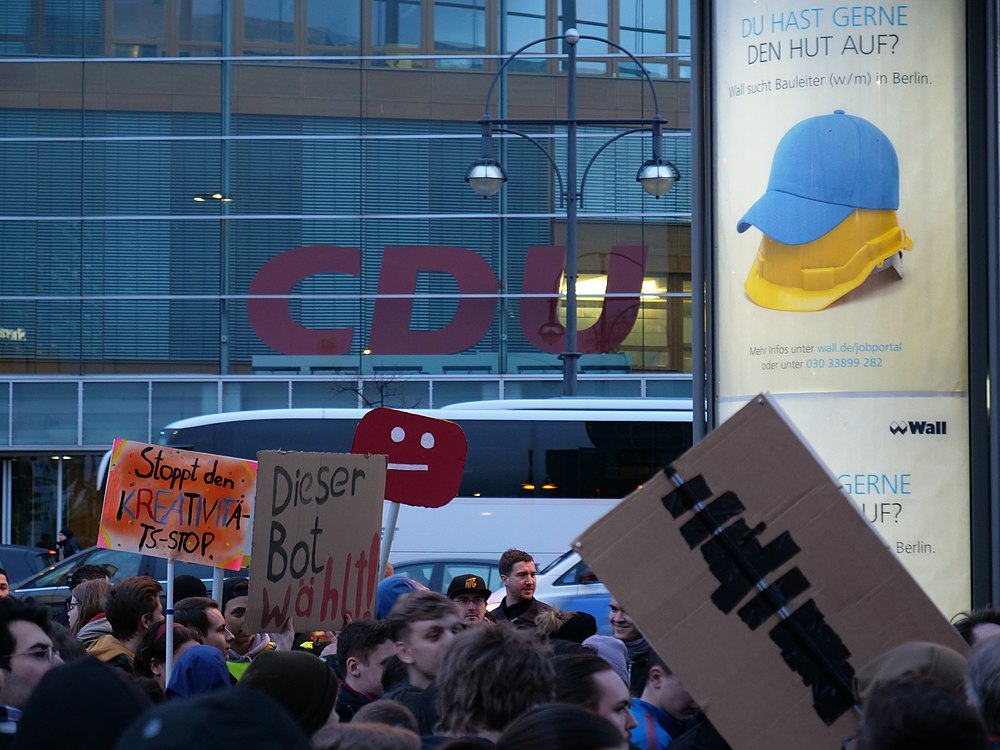 Article 13 protest at CDU headquarter in Berlin 05-03-2019 03.jpg