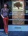 Artist Michael E. Arth in NYC, 1976.jpg