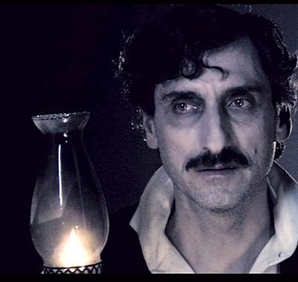 Anton Alexander (actor) - Anton Alexander as Edgar Allan Poe in The Novel