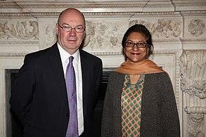 Asma Jahangir - Foreign Office Minister Alistair Burt of United Kingdom.