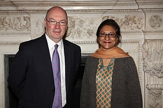 Asma Jahangir - Foreign Office Minister Alistair Burt of United Kingdom.
