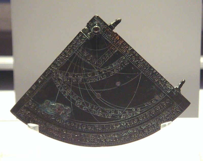 Astrolabe quadrant England 1388.jpg