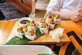 Atún Picante (Nikkei)-Spicy tuna 'uramaki', cucumber, avocado, cilantro, ají limo, puffed quinoa.jpg