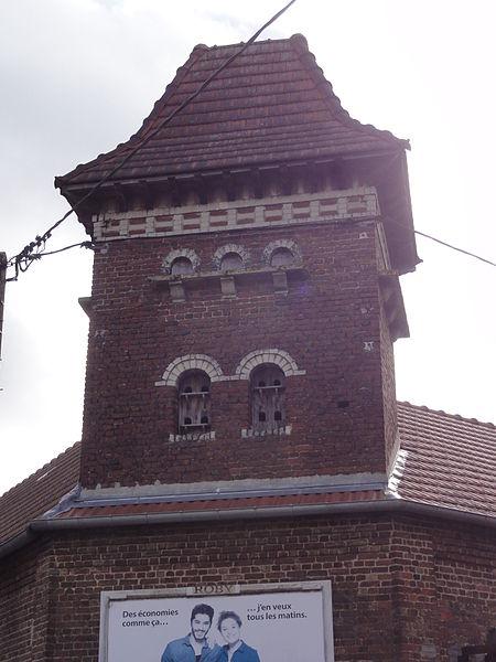 Attilly (Aisne) tour-pigeonnier