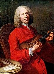 Joseph Aved: Portrait of Jean-Philippe Rameau