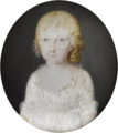 Attributed to Tresca - Portrait of a daughter of Ferdinand IV of Naples - Musée Condé.png