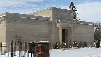 National Register of Historic Places listings in DeKalb County, Indiana - Image: Auburn Community Mausoleum