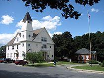 Auburn Town Offices and Merriam Library, Auburn MA.jpg