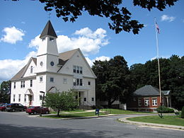 Auburn Town Offices and Merriam Library, Auburn MA.jpg