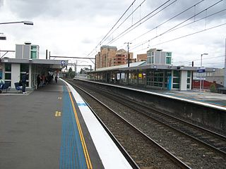 Auburn railway station, Sydney railway station in Sydney, New South Wales, Australia