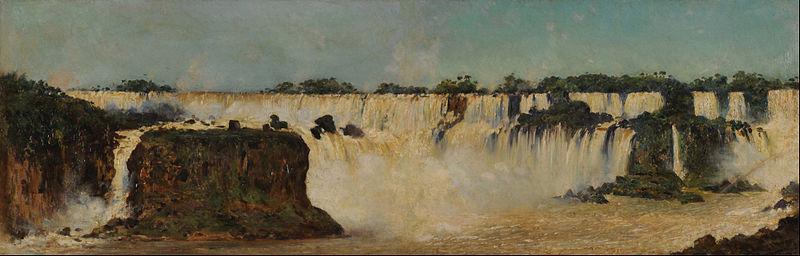 File:Augusto Ballerini - La cascada del Iguazú - Google Art Project.jpg