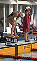 Australian swimmer at the 1992 Paralympic Games.jpg