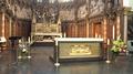Autel de L'Église Saint-Nicolas de Wasquehal lors de la messe du Temps Pascal du 17 mai 2020.png