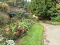 Autumnal flower bed, Horsforth Hall Park - geograph.org.uk - 272747.jpg