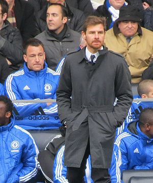 André Villas-Boas - Villas-Boas managing Chelsea against Birmingham in 2012.