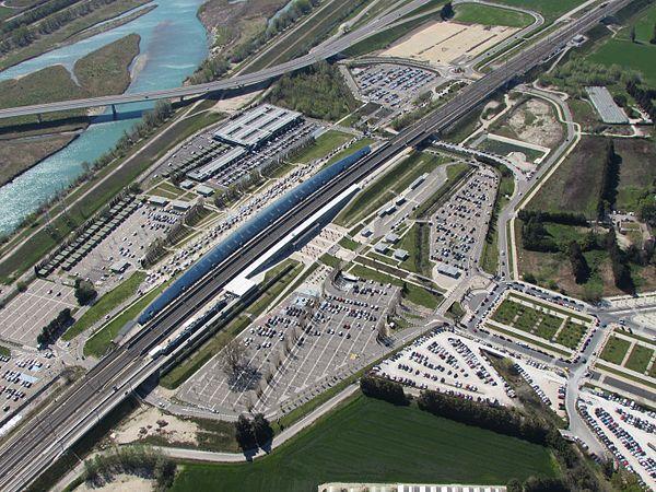 Avignon Tgv Station Wikiwand