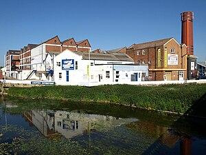 United Dairies - The former Wiltshire United Dairies/United Dairies site at Melksham
