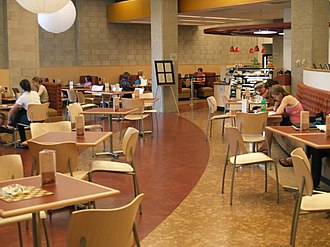 Oberlin College Library - Azariah's Café in the Academic Commons.