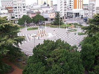 Azul, Buenos Aires - Plaza San Martín