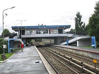 Bøler (station) railway station in Østensjø, Norway