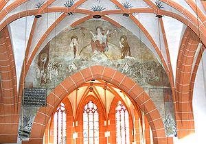 Die Marienkirche in Büdingen, Innenansicht - D...