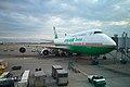 B-16409 - 747-45E M - EVA Airways - TPE (12654627394).jpg