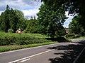B3335 road at Coxs Hill, Twyford - geograph.org.uk - 450607.jpg