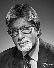 Amitabh Bachchan en Studio Harcourt, 2009.