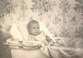 Simeon Saxe-Coburg-Gotha - Prince Simeon as a baby