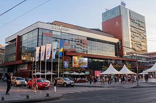 shopping mall in Sarajevo