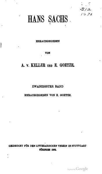 File:BLV 193 Hans Sachs Band 20.pdf