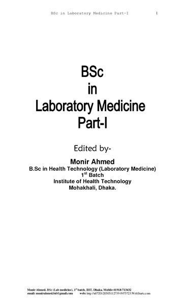 File:BSc in Lab Medicine Part-I.pdf