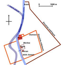 Plan De La Ville De Bagdad Aujourd Hui