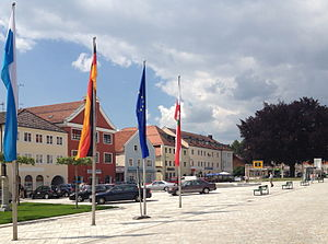 Bad Griesbach (Rottal) - Image: Bad Griesbach Stadtplatz 2