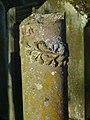 Bad Rappenau - Heinsheim - Jüdischer Friedhof - Grabstein mit Säulenaufsatz 1.jpg