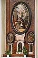 Baja, belvárosi római katolikus templom, Nepomuki Szent János-oltár 2021 01.jpg