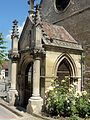 Balagny-sur-Thérain (60), église Saint-Légér, porche 2.JPG