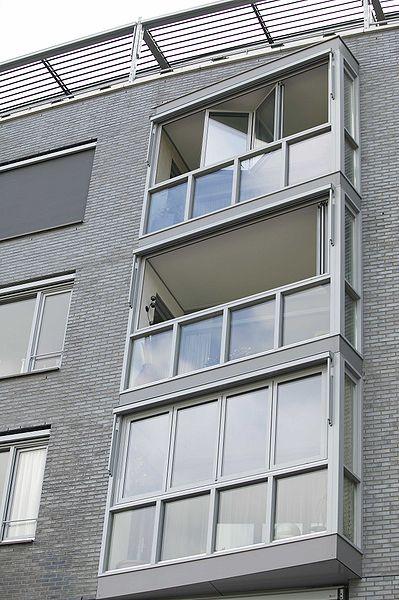 zabudowane balkony