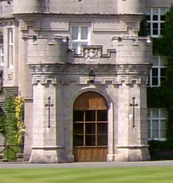 Balmoral Castle porte cochere
