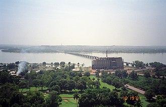 Bamako - Pont des Martyrs