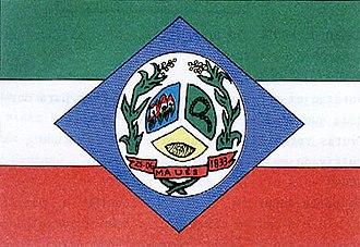 Maués - Image: Bandeira de Maués