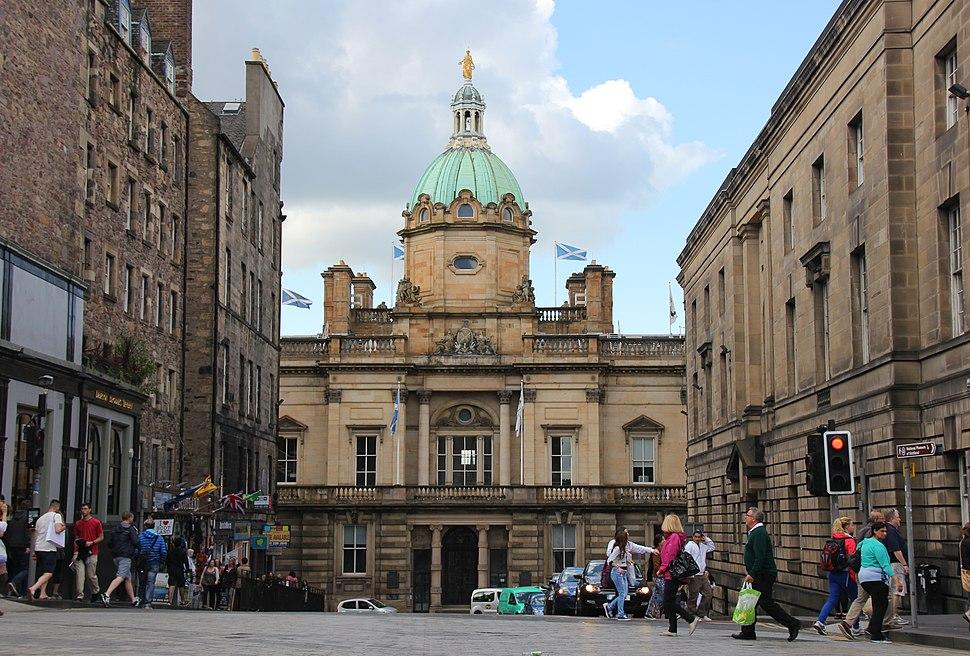 Bank of Scotland, Bank Street building 2014-07-05