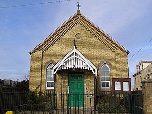 Dyke, Lincolnshire - Image: Baptist Chapel, Dyke geograph.org.uk 1162116