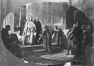 Graaf Jan de Tweede schenkt het eerste Privilegie aan Amsterdam, 1300