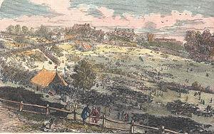Barnet Fair - Cattle at Barnet Fair c. 1849
