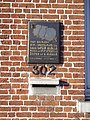 Baron Ruzettelaan 302 Assebroek - 'Hier overleed Louis Lateur-Gezlle, moeder van Stijn Streuvels'.JPG