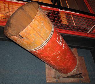 Barrack buster - IRA's Barrack Buster mortar