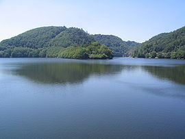 The lake of Besserve