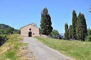 Barras, Alpes-de-Haute-Provence - Saint-Pierre Chapel and cemetery